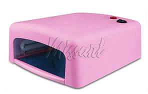 УФ лампа для маникюра 36 вт светло розовая