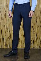 Брюки мужские синие в джинсовом стиле , фото 1