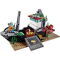 """Конструктор Lepin 02012 аналог LEGO City 60095 """"Корабль исследователей морских глубин"""""""
