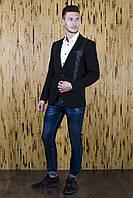 Мужской пиджак фактурный, фото 1