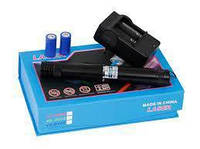 Аккумуляторный фонарь-указка синий YX-B008