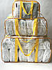 Набор из 3 прозрачных сумок в роддом - S,L,XL - Белый, фото 6