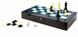 Шахматы, шашки, нарды MC 1178/8899 магнитные, 3в1, фото 1