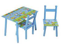 Комплект детской мебели baby tilly Мышки w02-884/h911