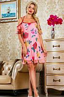 Летнее красивое платье в цветочек Д-1482