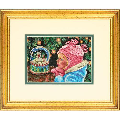 Набор для вышивания крестом Рождественские пожелания/Christmas Wishes DIMENSIONS 70-08936