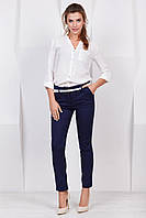 Жіночі літні темно-сірі штапельні штани №114-1 7a4d383fa80bc