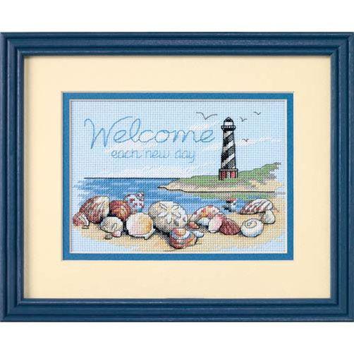 Набор для вышивания крестом Каждый новый день/Welcome Each New Day DIMENSIONS 65032