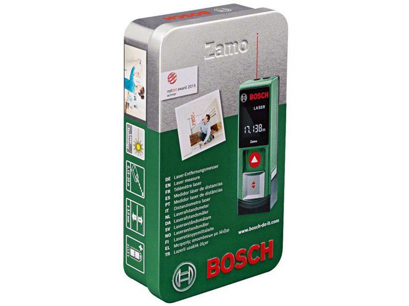 Laser Entfernungsmesser Bosch Zamo Ii : Лазерный дальномер рулетка bosch zamo цена 1 200 грн. купить в