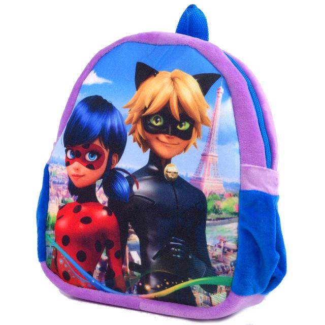 Рюкзачок плюш Леди Баг и Супер Кот, рюкзак для садика и прогулок для малышей, 00200-10 Украина