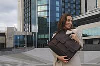 Женская кожаная сумка ручной работы | Жіночий шкіряний портфель
