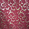 Мебельная ткань шенилл Гобелен с люрексовой ниткой ширина ткани 150 см сублимация 3071-бордо