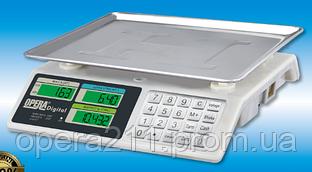 Торговые весы на YZ-982S ACS 50кг METAL (OPERA-DIGITAL)