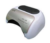 LED + CCFL лампа гибрид на 48 вт, для гель-лаков и для геля с таймером 10, 30 и 60 сек белая без коробки