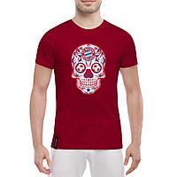 Футболка с принтом Бавария (красная)