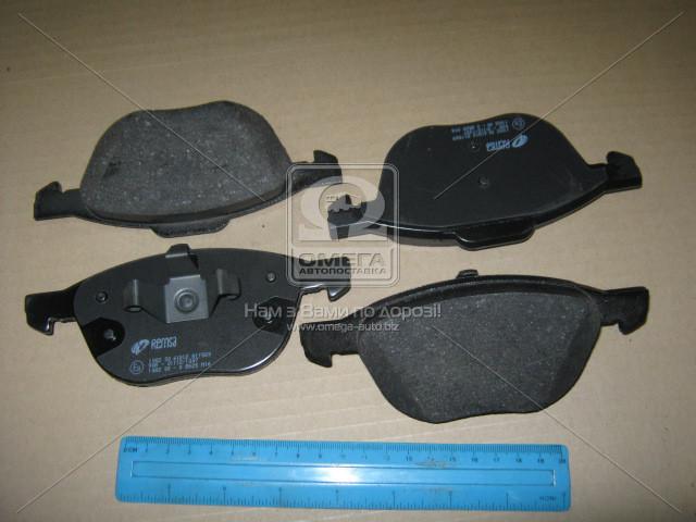 Колодка торм. FORD FOCUS, MAZDA 3,5, VOLVO C70, S40, передн. (пр-во REMSA)1082.30