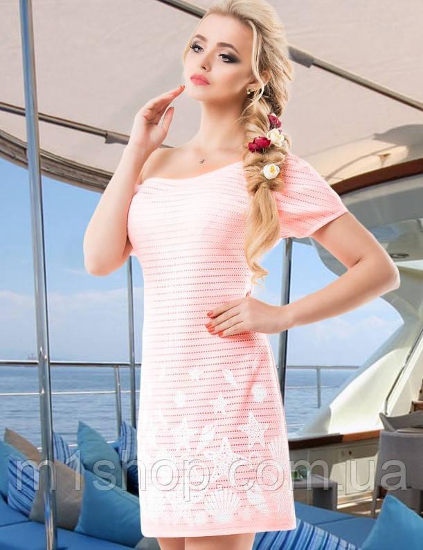 Женское летнее платье с морской тематикой (1469-1465-1467-1470-1466-1468 svt)