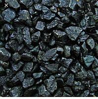 Базальтовый щебень, крошка черная базальтовая, черный щебень