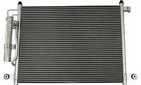 Конденсер кондиционера KOREASTAR KCDD-016 с осушителем на CHEVROLET AVEO, DAEWOO KALOS