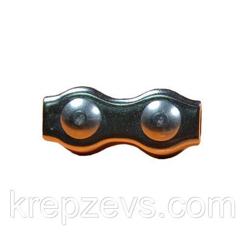 Зажим для троса DUPLEX 8 мм нержавеющий