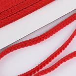 Тесьма с мини-помпонами 5 мм красного цвета (Польша), фото 2