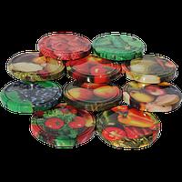 Крышки ТВИСТ, разноцветные, упаковка 20 шт