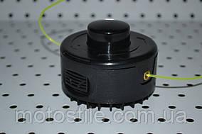 Косильная головка (Шпуля) (полуавтомат.диск) с леской d-6mm  для электрокос