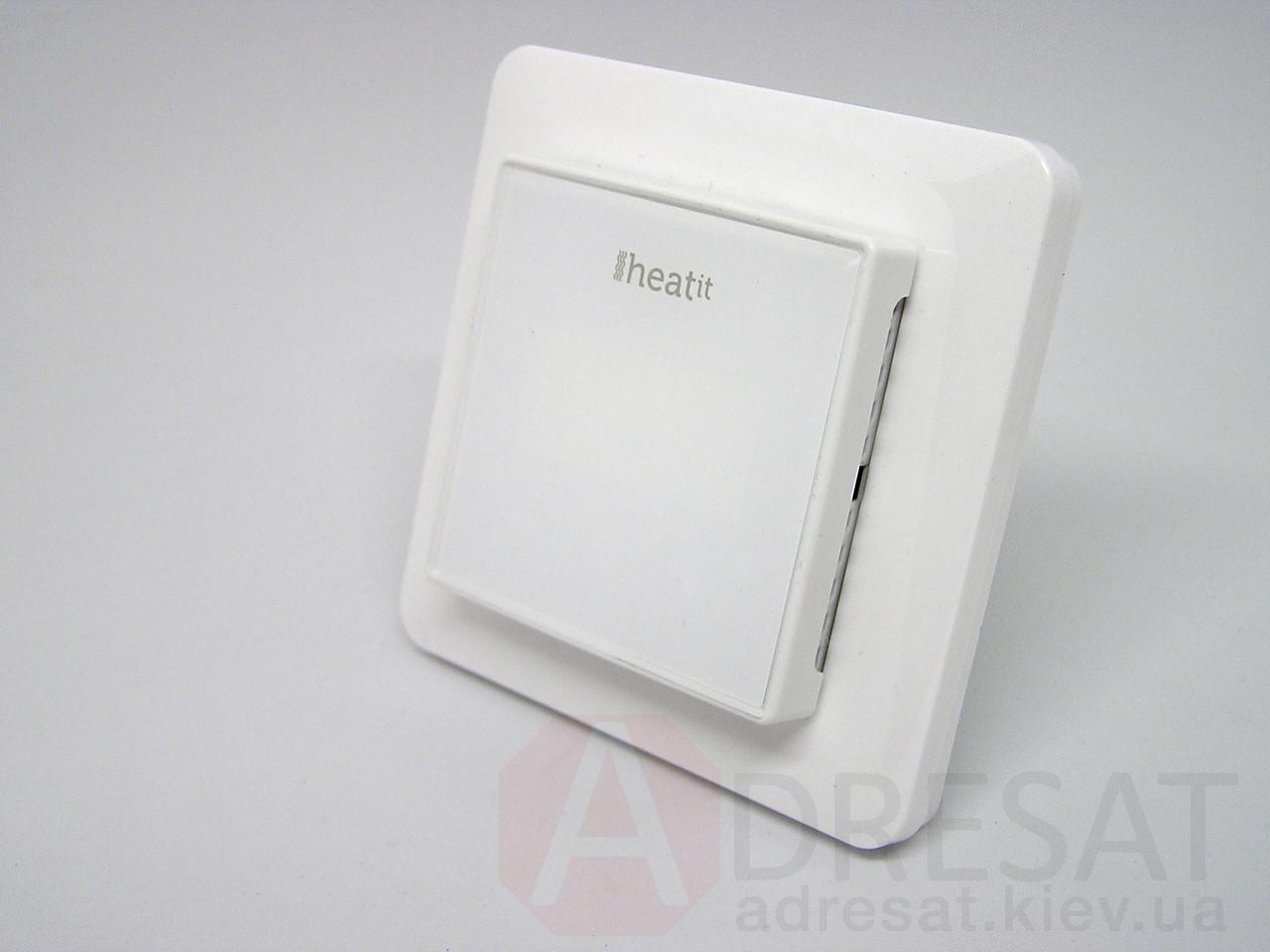 HEAE5430499, Z-wave термостат Heatit, настінний, білий