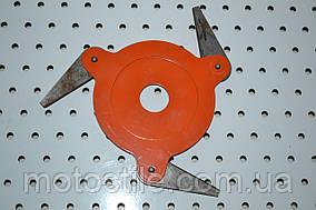 Косильная головка с металлическими ножами для бензокос 3Т