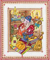 Набор для вышивания крестом Panna SO-1618 Хозяин пыльных уголков