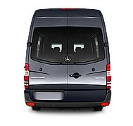 Стекло задней двери Mercedes Sprinter 2006-2018 распашонка