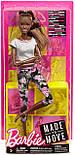 Кукла Барби Йога Безграничные движения афроамериканка - Barbie Made to Move, фото 3