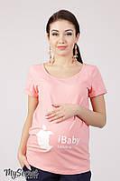 Футболка для беременных Lillit iBaby
