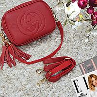 Женская маленькая сумка красная, фото 1
