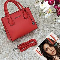 Женская мини красная женская сумка средняя, фото 1