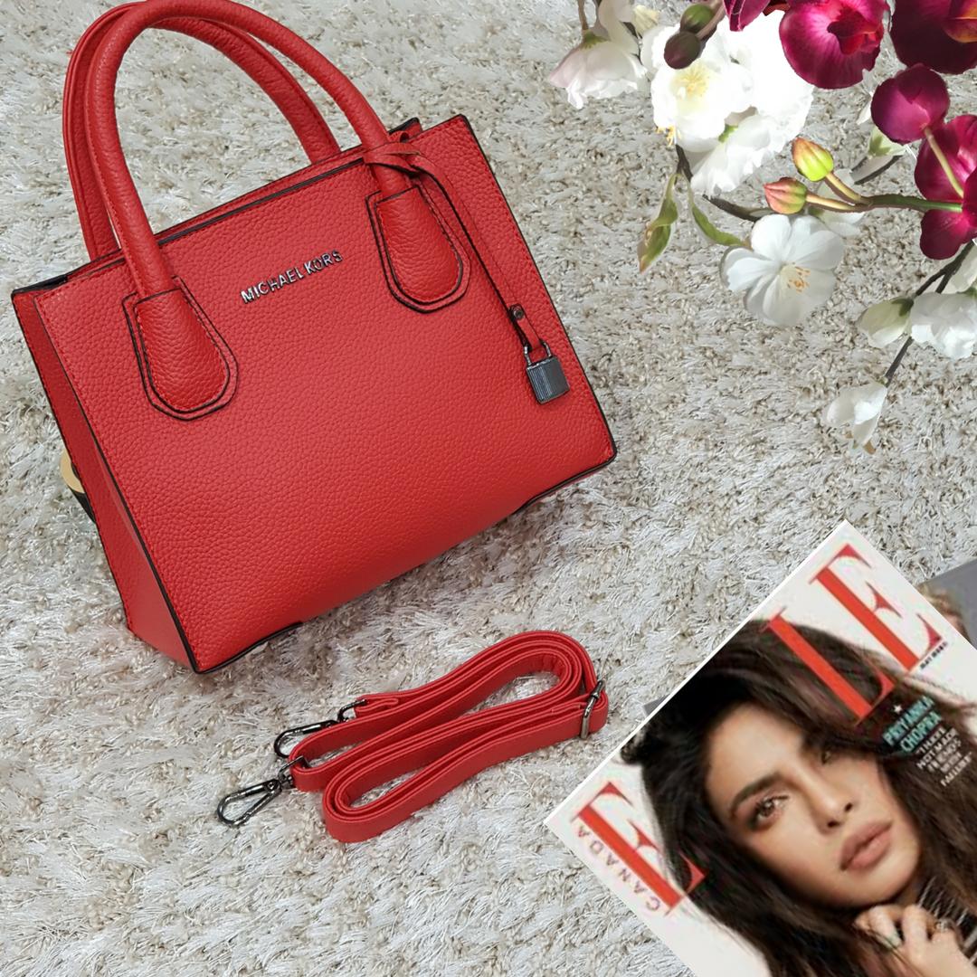 Женская мини красная женская сумка средняя