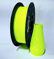 АБС пластик 0.5 кг для 3d принтеров и ручек, лимонный неоновый