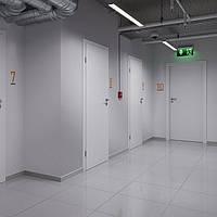 межкомнатные белые двери Porta