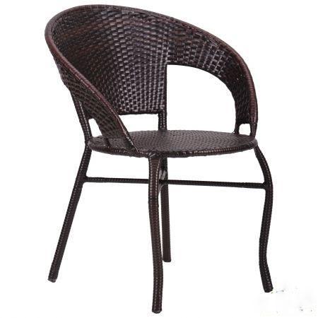 """Кресло """"Catalina"""" ротанг коричневый"""