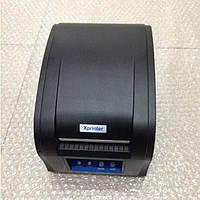 Б/У Принтер этикеток Xprinter 360 чеков с небольшим пробегом, рабочие 100% гарантия 3 месяца, фото 1