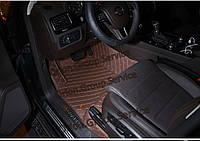 Комплект ковриков эко кожа Volkswagen Touareg Фольксваген Туарег