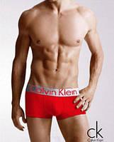 Трусы боксеры replica Calvin Klein Steel хлопок cotton мужские нижнее мужское белье L, красный