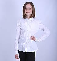 Школьная блуза, натуральный хлопок