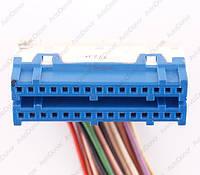 Разъем электрический 30-и контактный (39-12) б/у