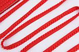 Тесьма с мини-помпонами 5 мм красного цвета (Польша), фото 5