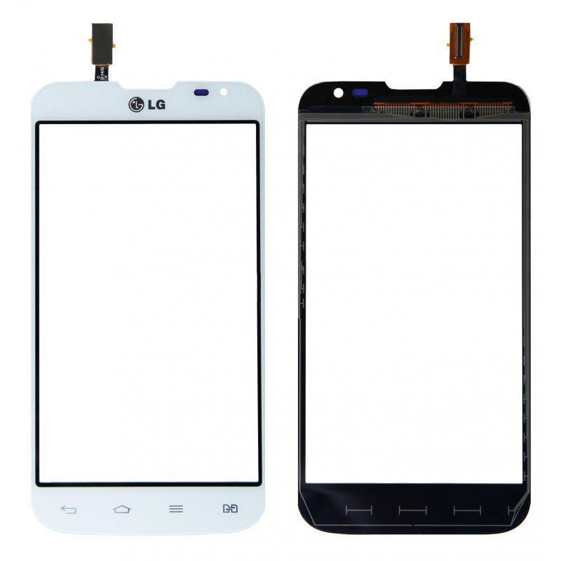 Тачскрин для LG D325 Optimus L70 Dual Sim, белый Оригинал (тестирован)