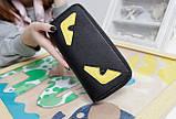 Женский кошелек клатч с глазами в стиле Fendi. Это что-то новенькое! , фото 5