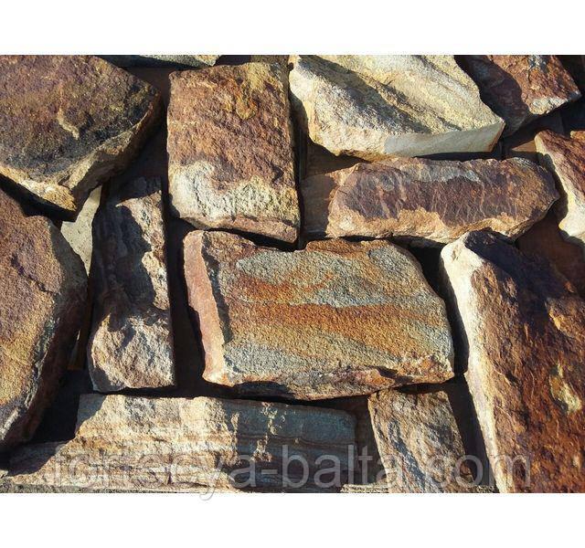 Камень бут рыжий 1 т