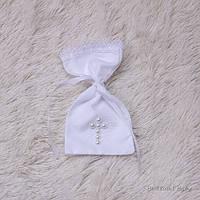 Мішечок для перших волосиків Перли (білий)