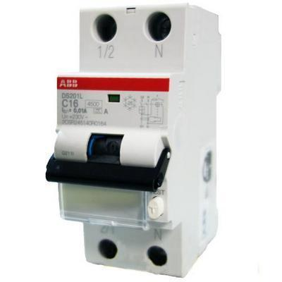 Дифференциальный автомат (дифавтомат) ABB DS201B10A30, 2CSR255140R1105